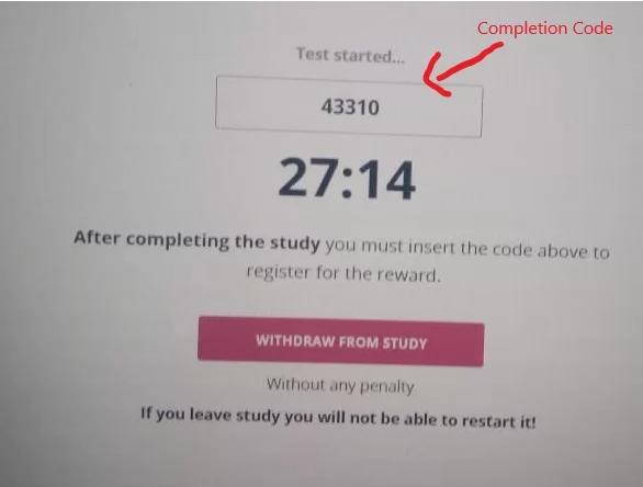 como completar los estudios en testable minds