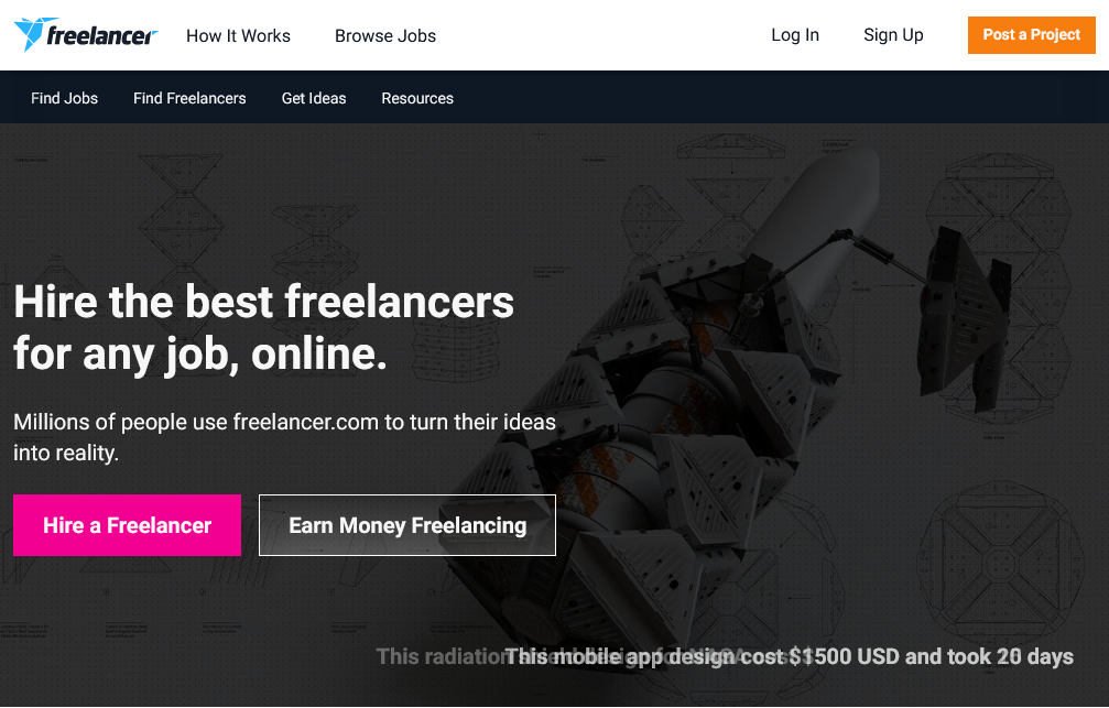 como ganar dinero en freelancer con logotipos