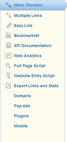 cuales son las herramientas que utiliza adfly