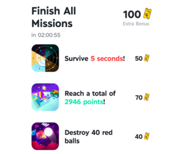 como son las misiones en los juegos de gamee
